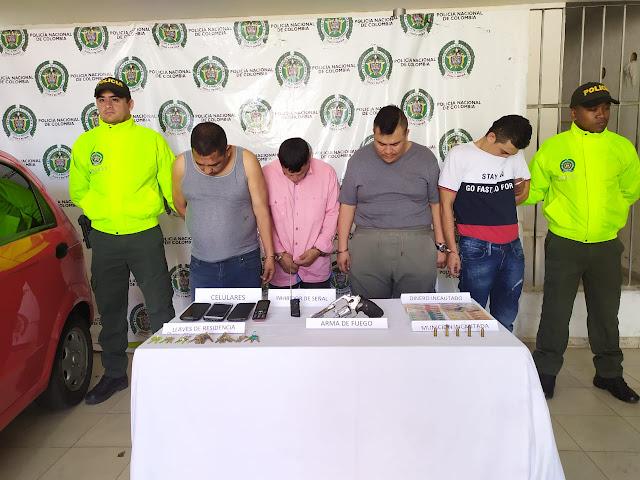 'Los Gordos', con aparatos electrónicos robaban autos y residencias