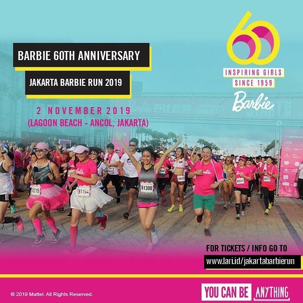 Jakarta Barbie Run • 2019