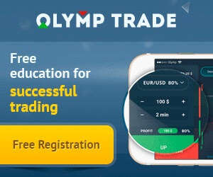 Free registration at Olymp Trade