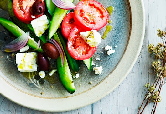 Summer Salad Recipes - Greek Salad.