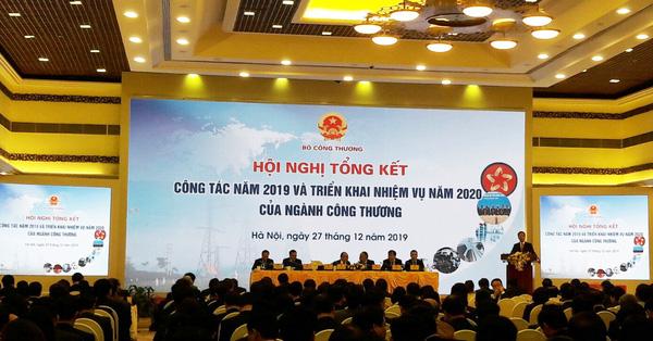 Hội nghị tổng kết công tác năm 2019 và triển khai nhiệm vụ năm 2020 của ngành Công Thương
