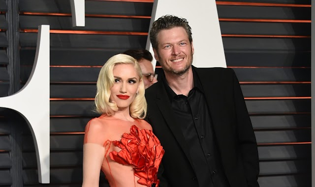 Gwen Stefani e Blake Shelton passaram o Dia de Ação de Graças juntos em Oklahoma
