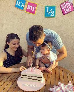 Kurnal Soha Daughter Birthday