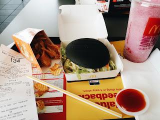 Review Spicy Korean Burger