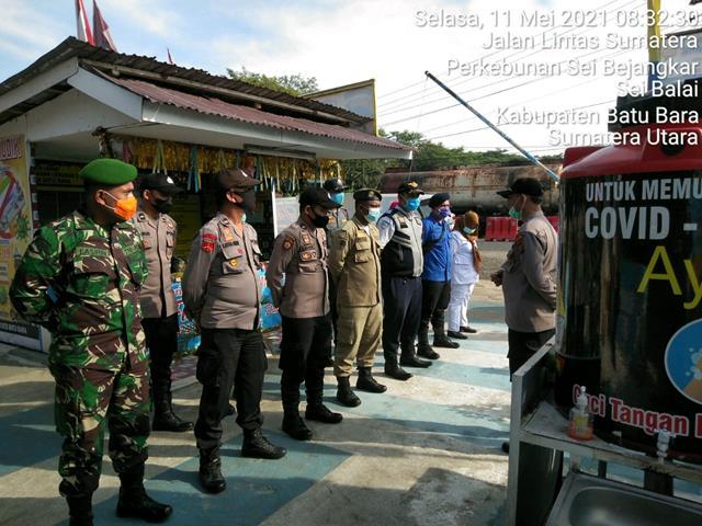 Personil Jajaran Kodim 0208/Asahan Jalin Sinergitas Bersama Instansi Lewat Pos Pam