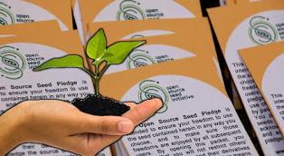 Open Source Seeds: Σπόροι και ποικιλίες ανοιχτής-ελεύθερης προέλευσης για κοινή χρήση(κατά το «τεχνολογία ανοιχτού κώδικα»)