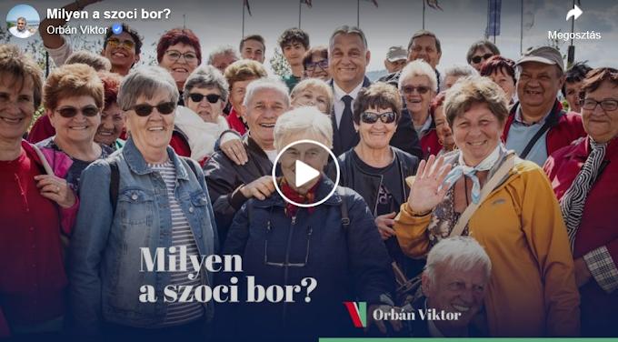 Orbán Viktornak elmesélték az egri asszonyok, hogy milyen a szocialista bor - Videó