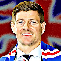 Steven Gerrard Rangers and Liverpool