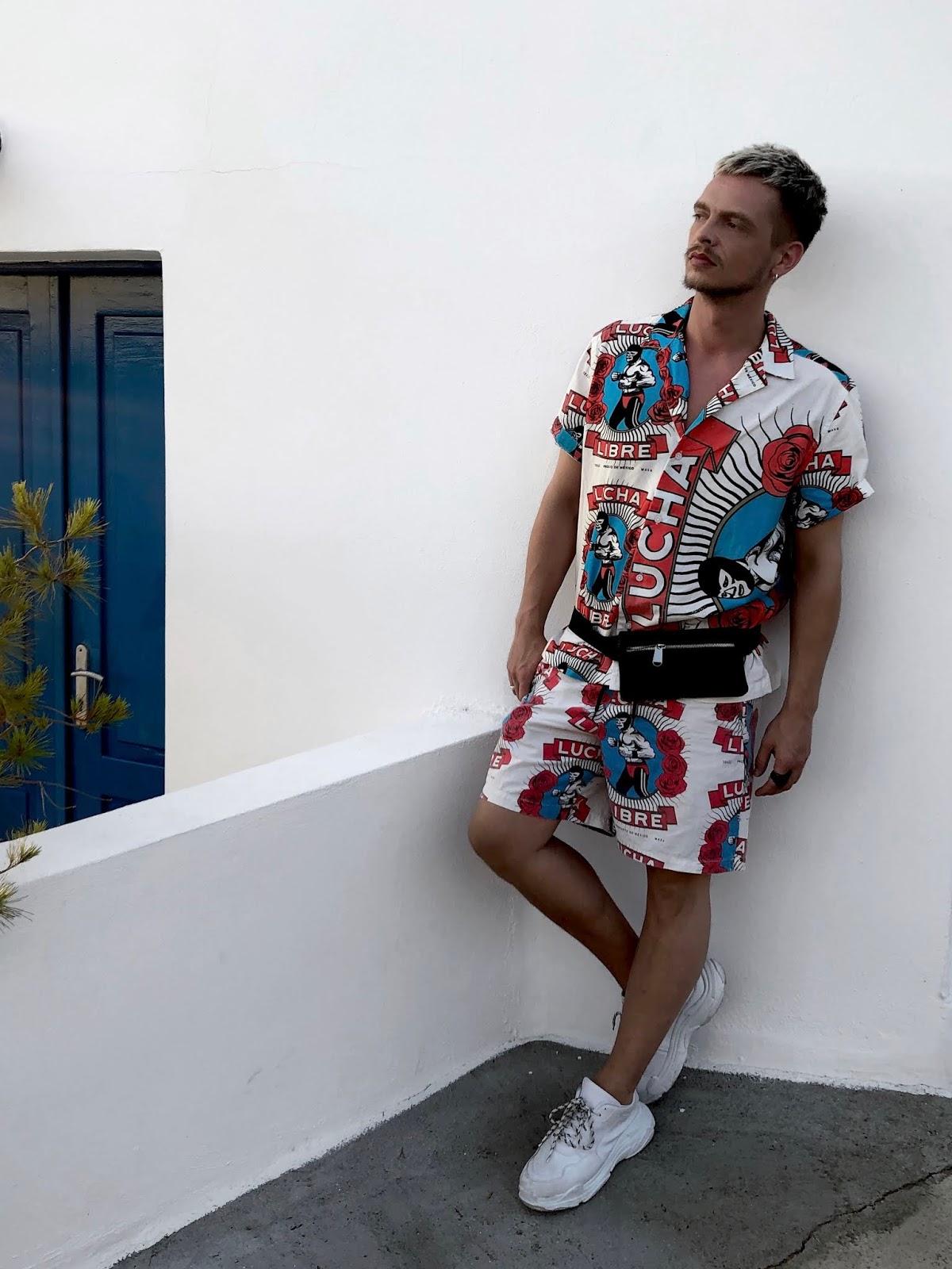 asos Greece mens street style co ord