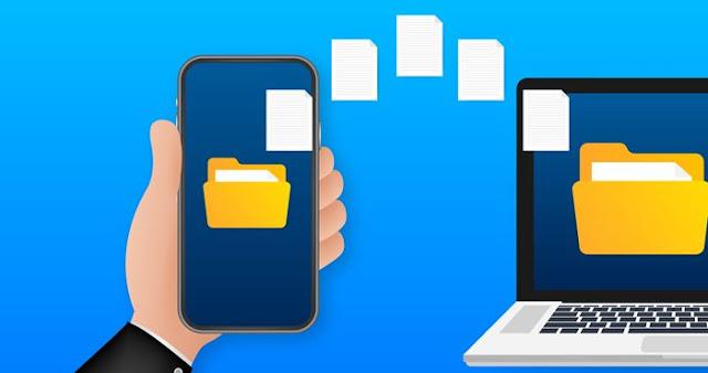 طريقة مشاركة الملفات بين الهاتف والكمبيوتر بدون كيبل USB