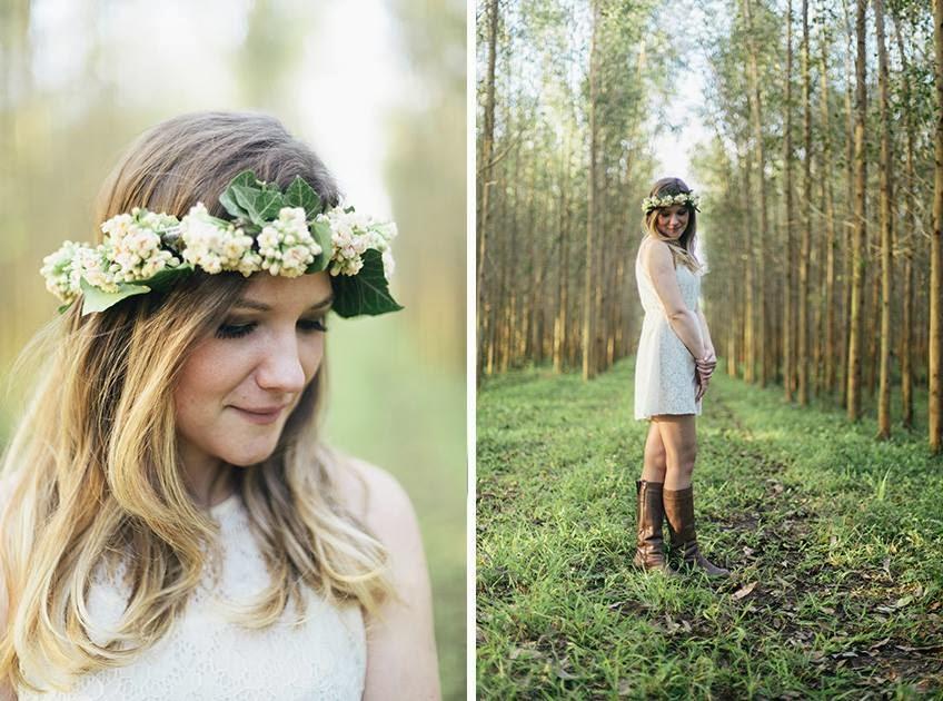 e-session - ensaio noivos - ensaio casal - ensaio ao ar livre - e-session ao ar livre - noiva - coroa de flores - noiva de bota