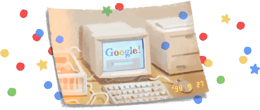 Happy Birthday Google : with a awesome doodle