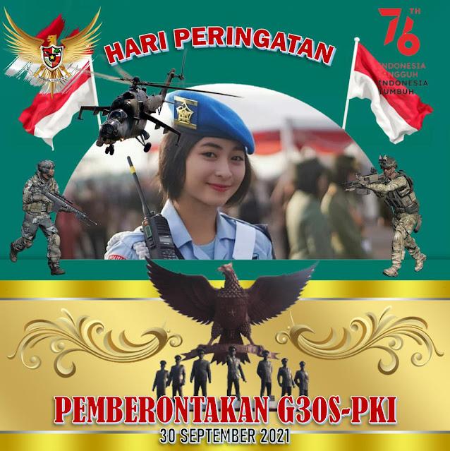 Kumpulan Twibbon Pemberontakan G30S-PKI 2021