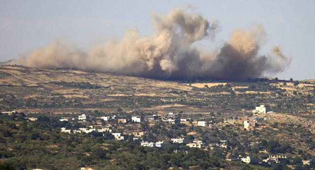 Tres proyectiles procedentes de Siria golpean Golan Heights
