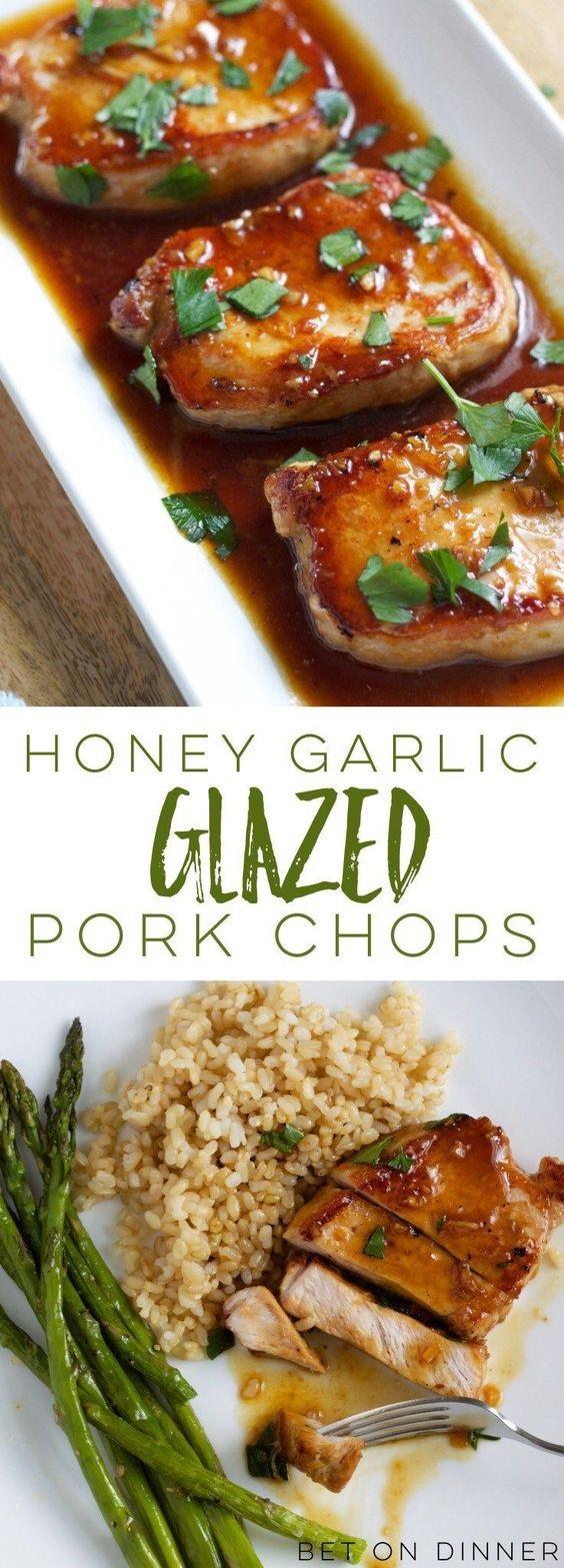 Honey Garlic Pork Chops
