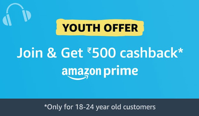 Amazon Prime Youth Offer-