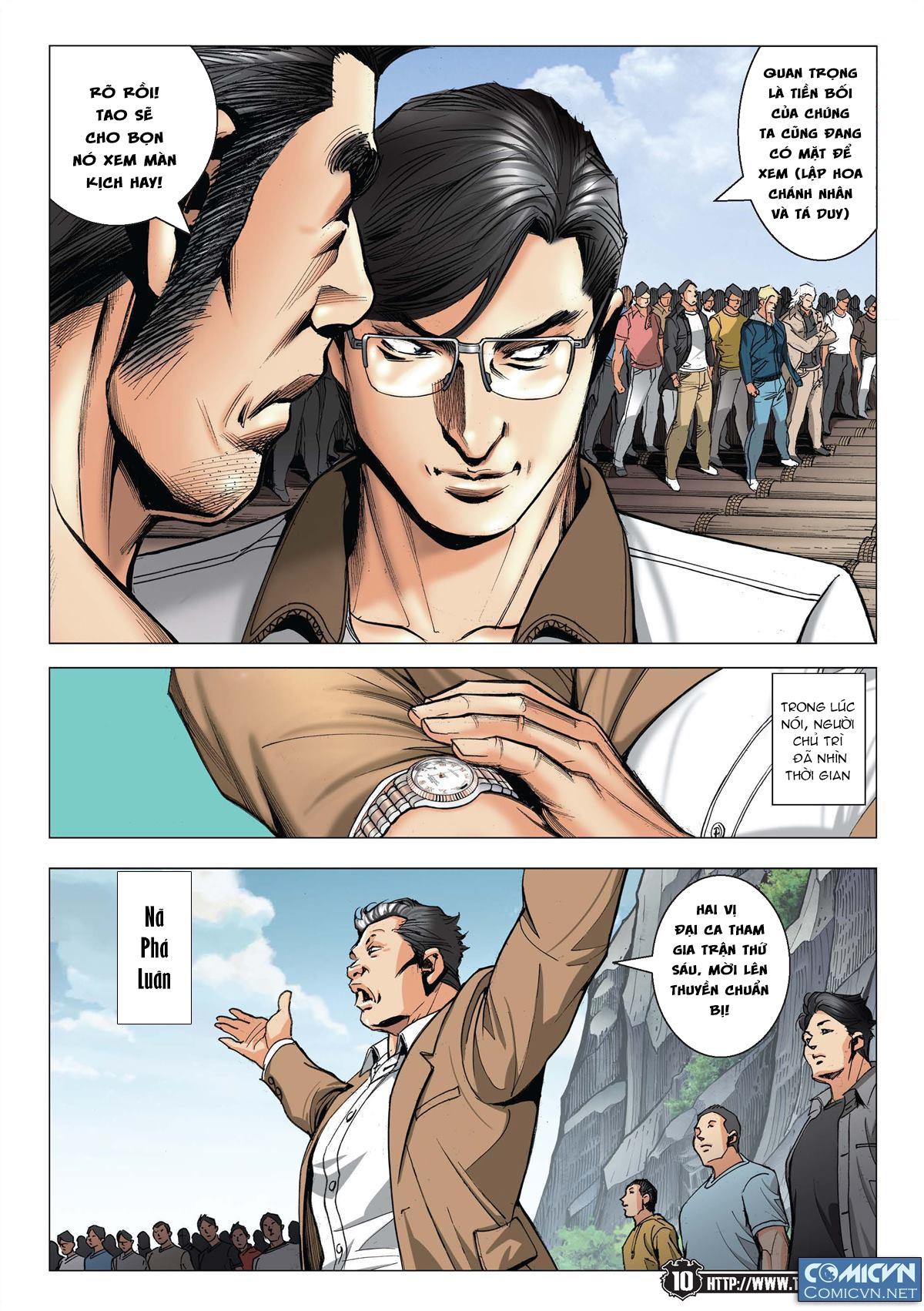 Người Trong Giang Hồ chapter 2148: tiểu mã vs gia đằng nhị trang 8