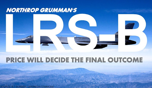 OPINION | Northrop Grumman's LRS-B : Price Will Decide The Final Outcome