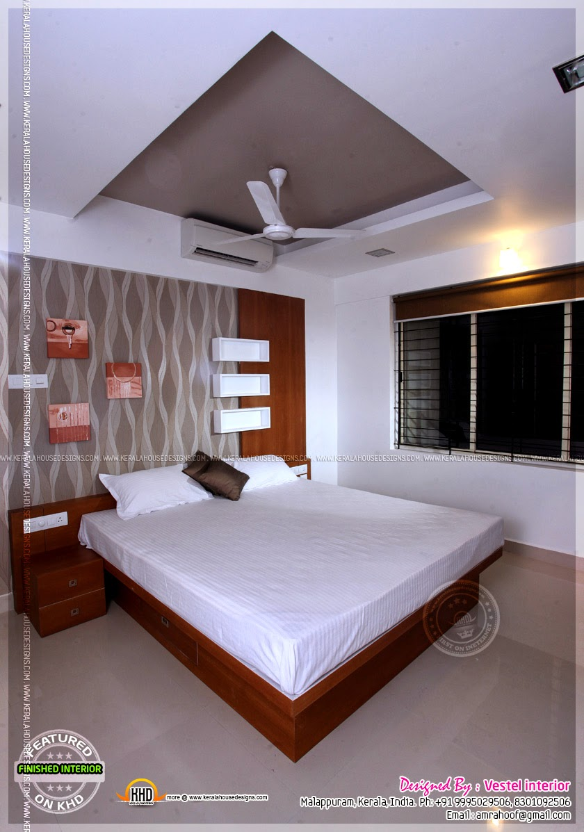 Finished Interior Designs In Kerala Kerala Home Design
