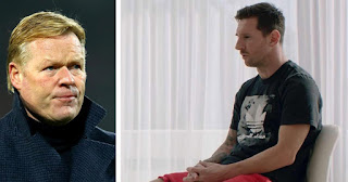 Koeman finally reveals his first conversation with Barcelona Captain Leo Messi: 'He was clear about his dissatisfaction'