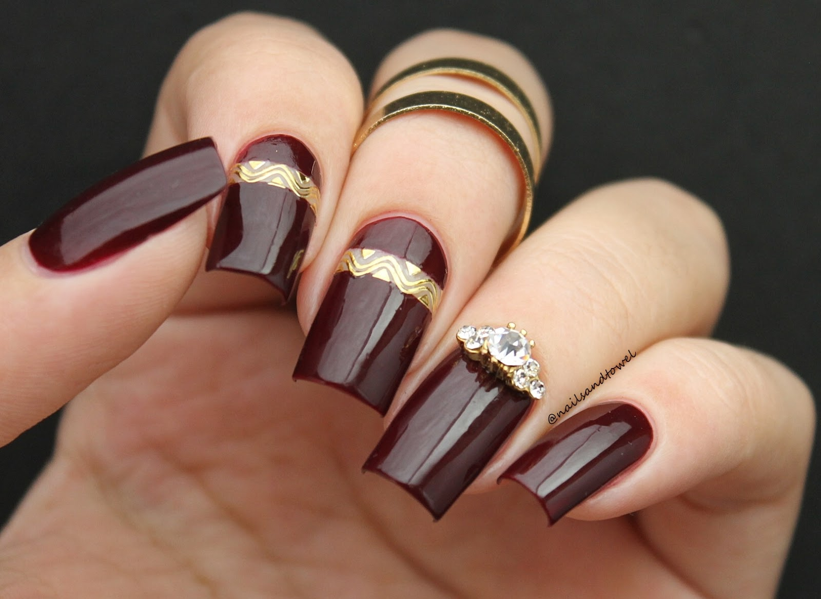 My Nail Art Journal Medieval Queen Inspired Nails Ft Daily Charme