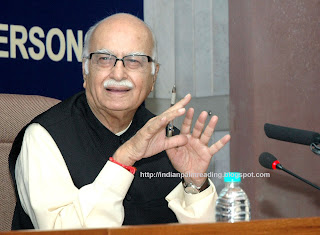 Lal Krishana Advani Palm Reading Palmistry