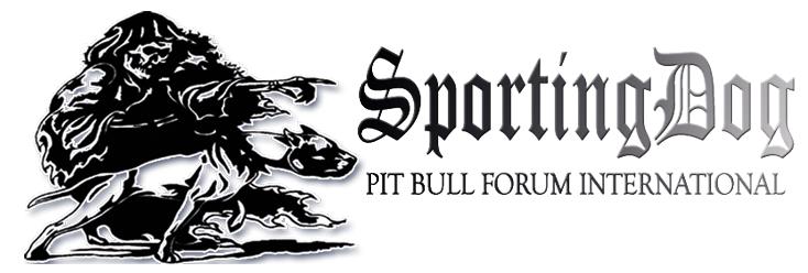 SPORTING DOG PIT BULL FORUM INTERNATIONAL | Game Dog World