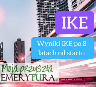 Wyniki IKE po 8 latach
