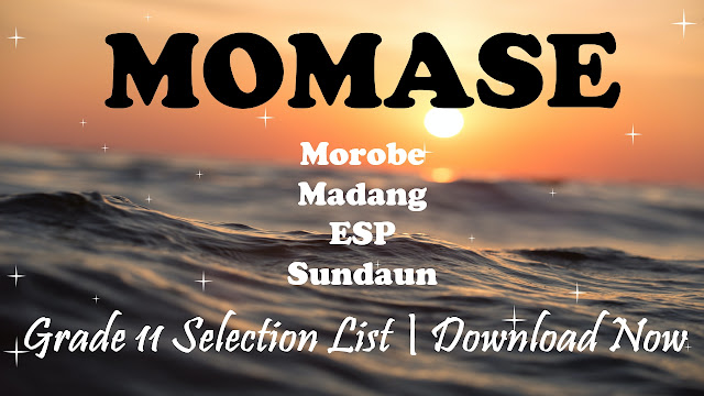 Momase Region 2021 Grade 11 Selections List