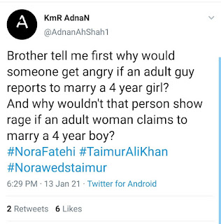 Nora Fatehi Trolled for Wanting to Marry Taimur Ali Khan