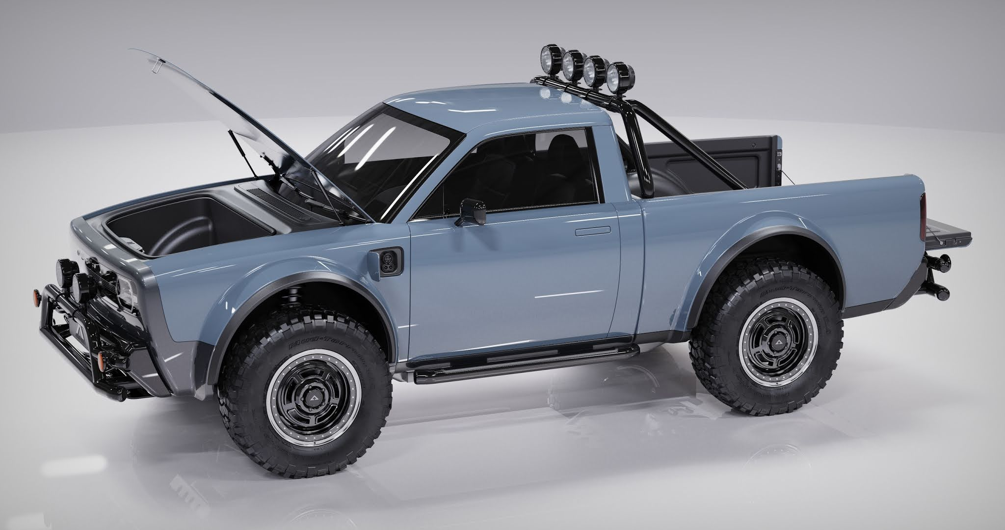 Electric utility truck - Wolf unveiled