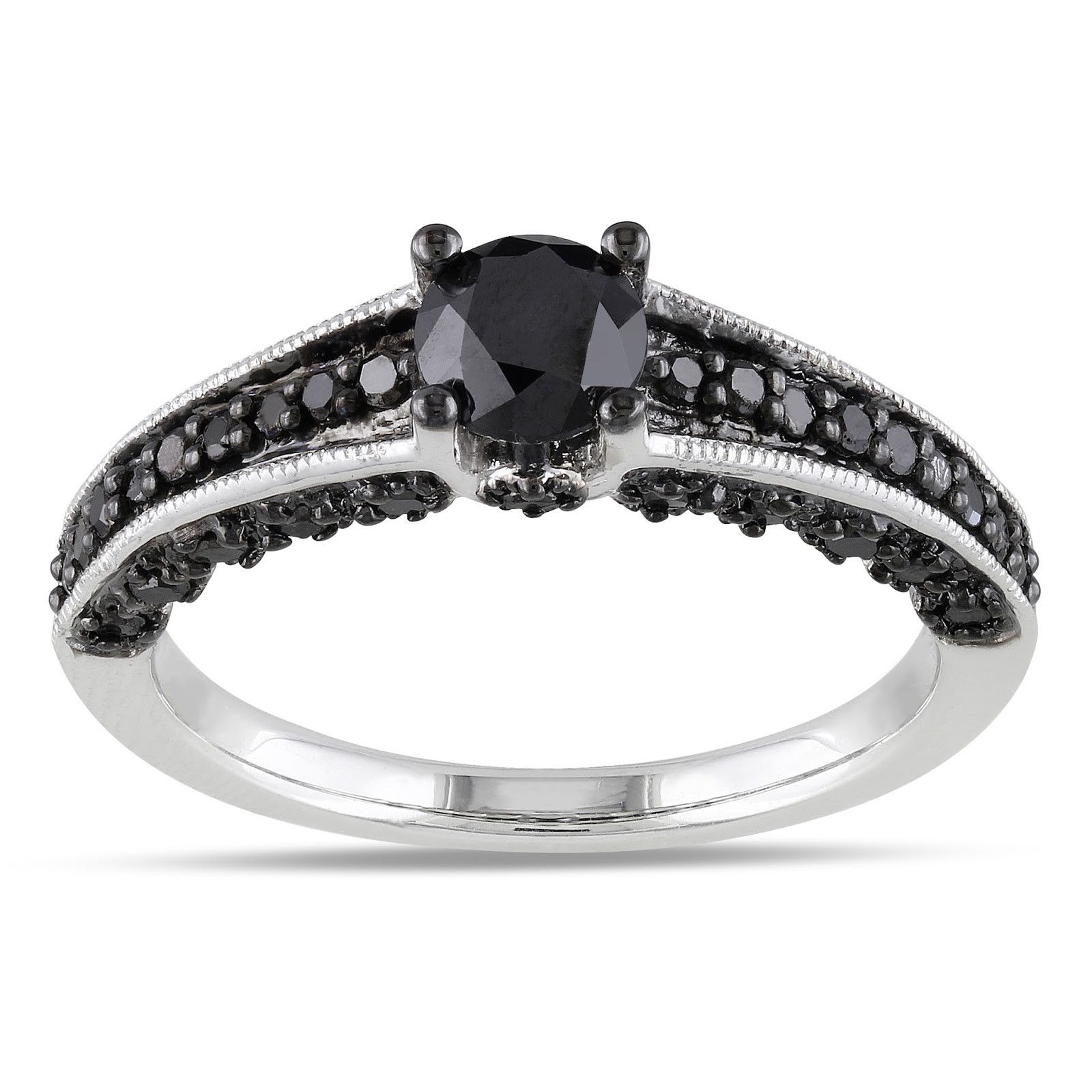 Promise Rings Black Diamonds
