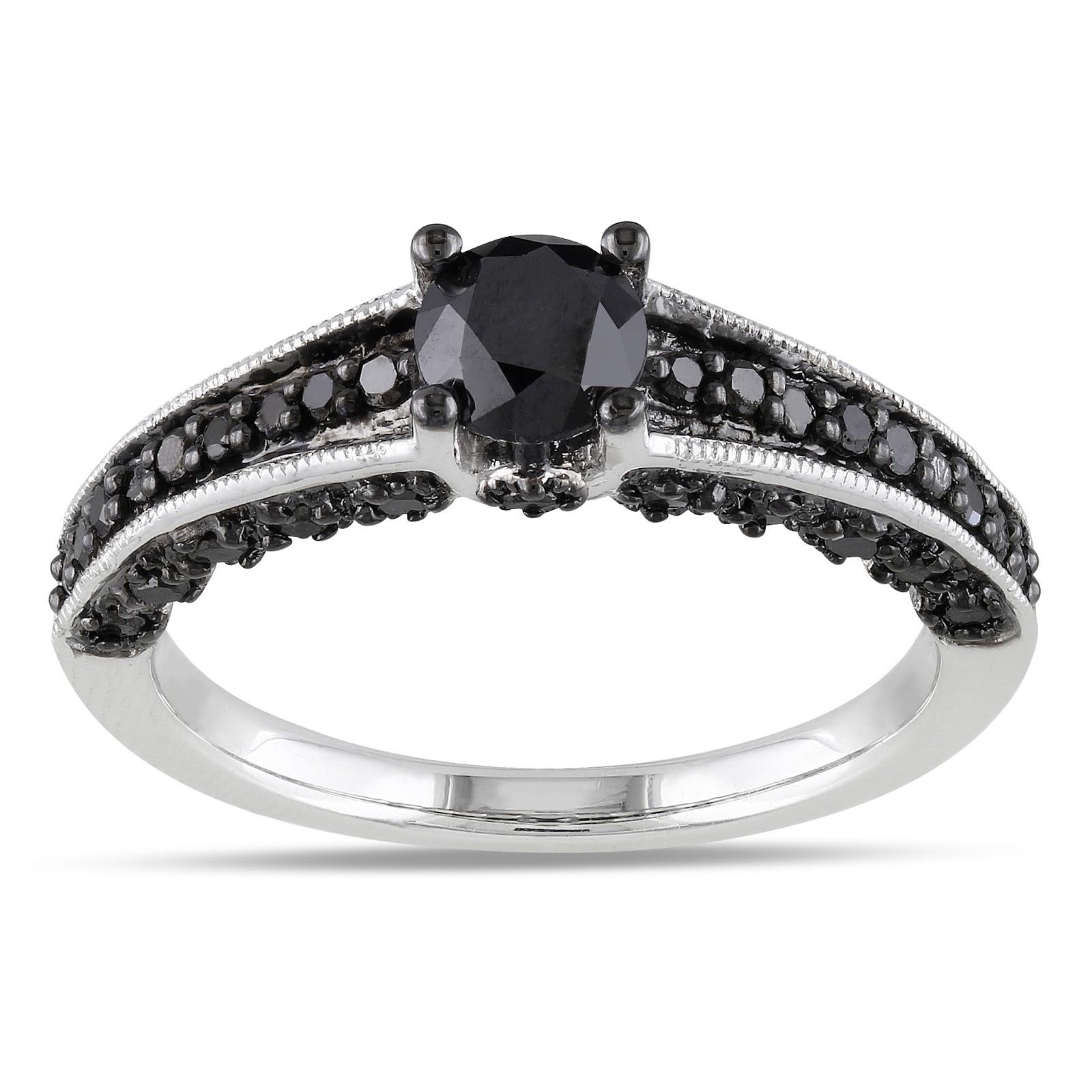 Promise Rings Black Diamonds