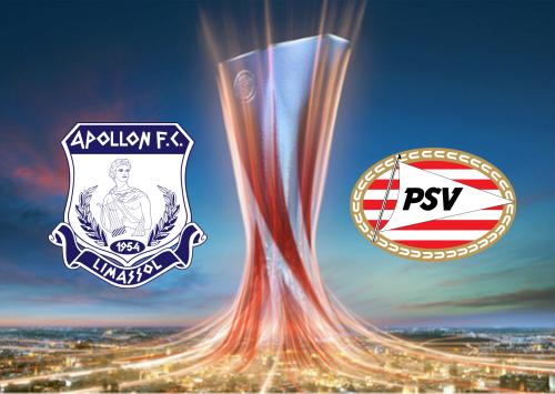 Apollon vs PSV -Highlights 29 August 2019