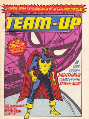 Team-Up #7, Nighthawk