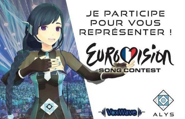ALYS, la chanteuse virtuelle francophone, en piste pour l'Eurovision !