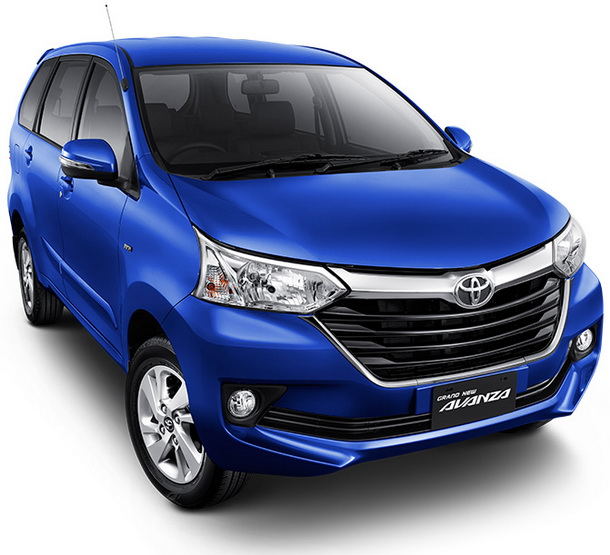 Tampilan Dilihat Dari Depan Model Bari Toyota Grand New Avanza