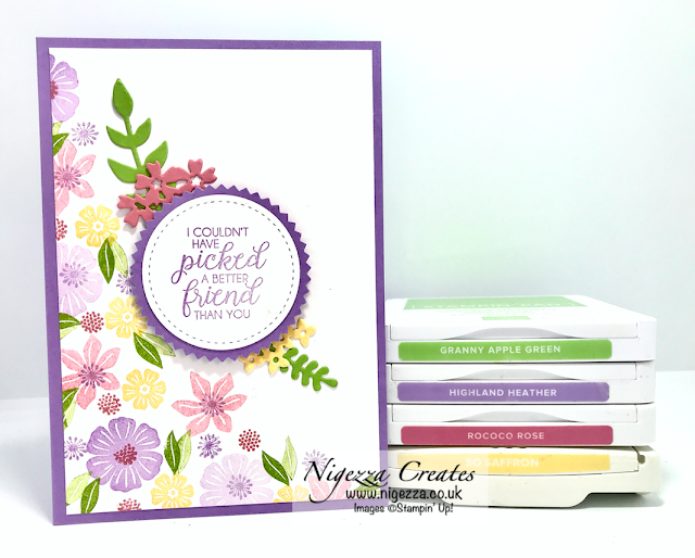 Nigezza Creates Colour Challenge With Stampin' Up! Beautiful Bouquet