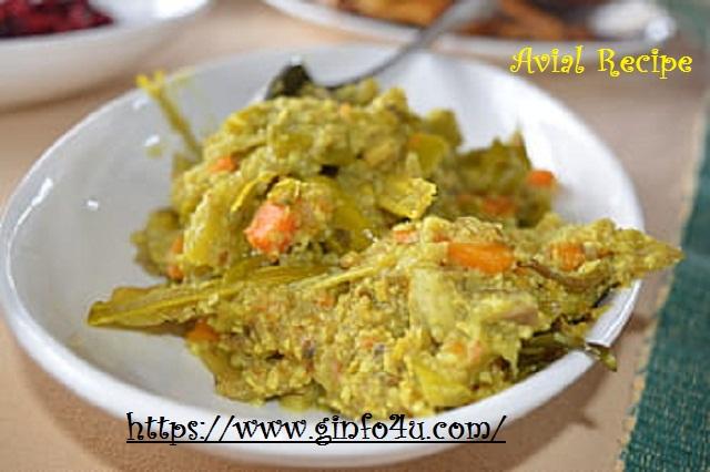 avial recipe-how-to-make-avial recipe-at-home-Ginfo4u