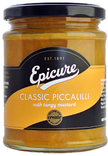 A jar of Epicure Piccalilli which is back on the shelves after a very long absence