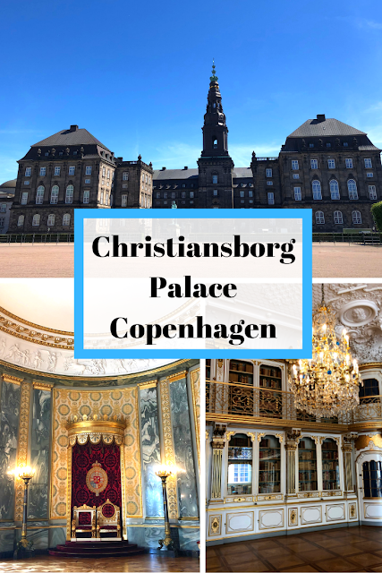 Christiansborg Palace: A Castle and Her Ruins in Copenhagen -- a place to explore the Danish Royal Reception Rooms and reminder of castles past