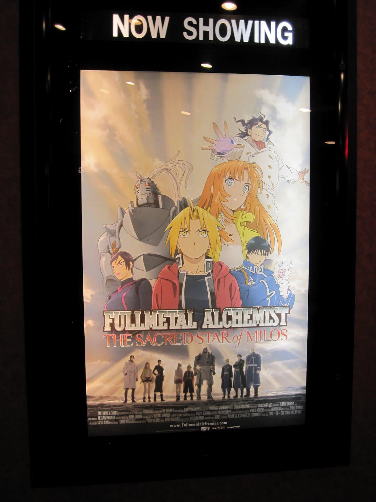 Symposium For Geek: Fullmetal Alchemist: The Sacred Star of Milos