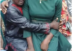 Remember 15years Old 'Chinwe' who was Married to 45years old Mentally Challenged Man-Throwback Pics