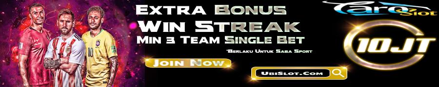 EXTRA BONUS WIN STREAK SINGLE BET