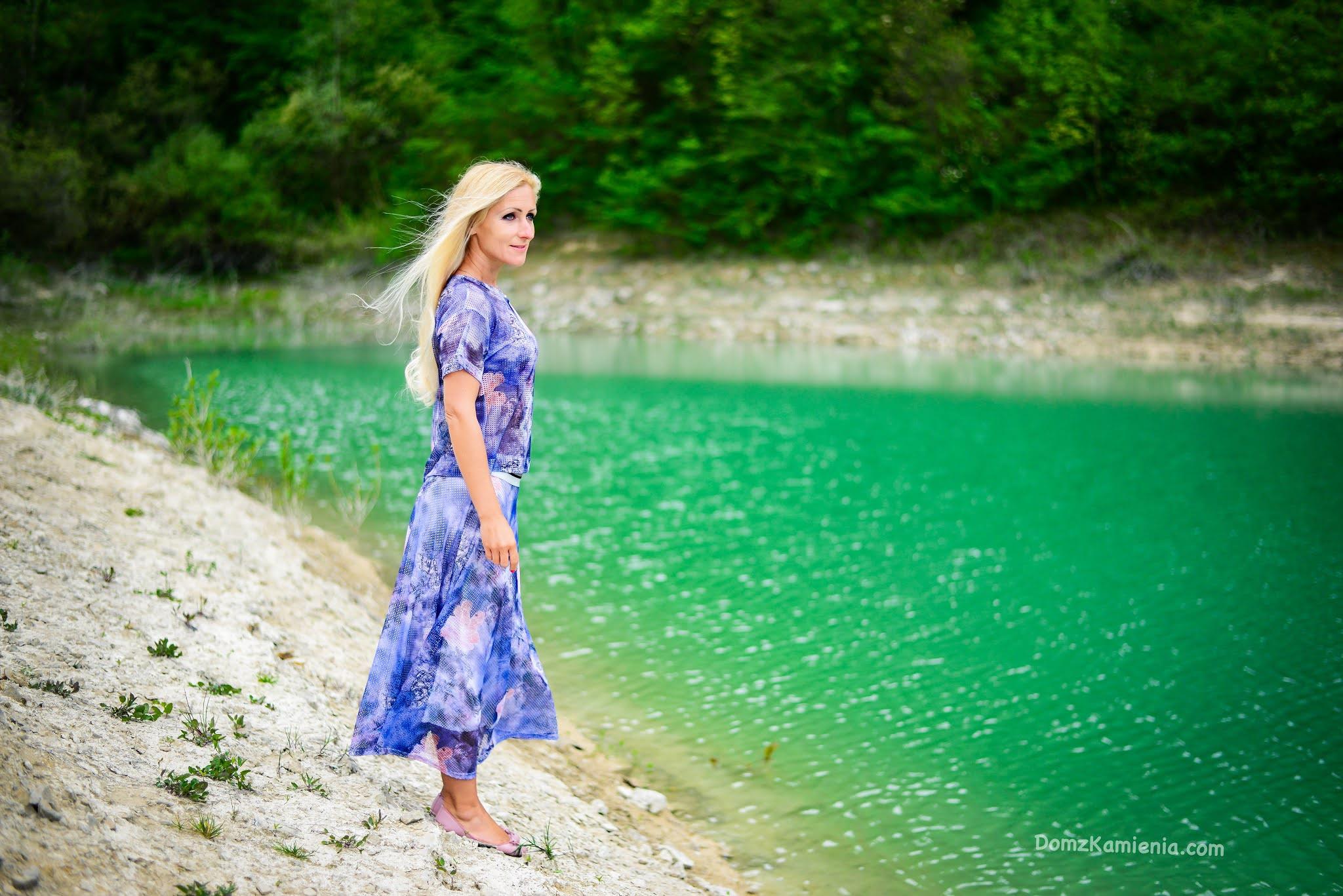 Kasia z Domu z Kamienia, lago di Bracanello