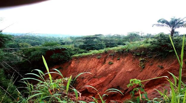 image: Anianta Landslide ecological challenge