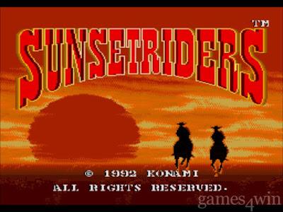 Games baseados em histórias reais: Sunset Riders