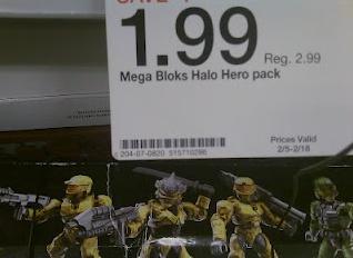 That Figures: NEWS: Target's Halo Mega Bloks Mini-figure Sale