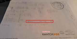 Bukti Pembayaran Pembuatan Paspor