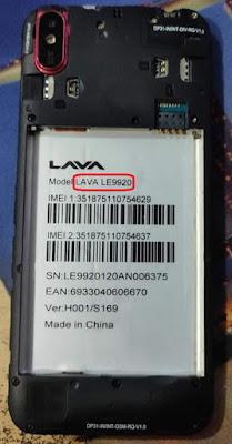 Lava LE9920 Flash File